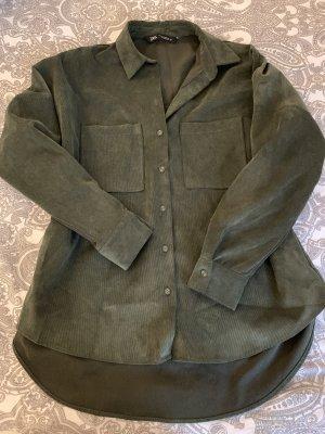 Schönes Zara Kahki Hemd