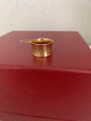 Schönster Ring mit BVLGARI Logo 750 gold gelbgold