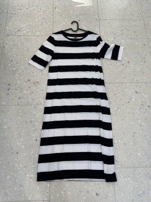 COS Vestido estilo camisa blanco-azul oscuro