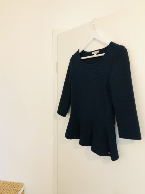 Tom Tailor Peplum Top dark blue