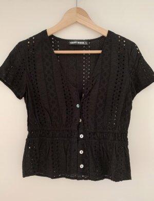 Tally Weijl Short Sleeved Blouse black