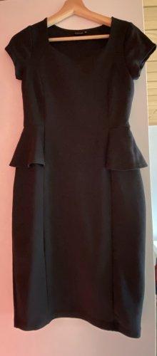 Bodyflirt Vestido peplum negro