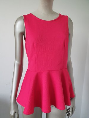 Vero Moda Peplum Top pink