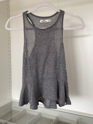 Hollister Top peplo multicolore
