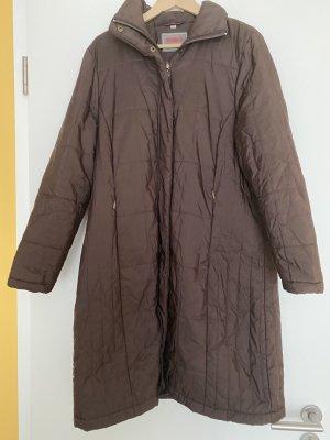 Wissmach Pikowany płaszcz brązowy