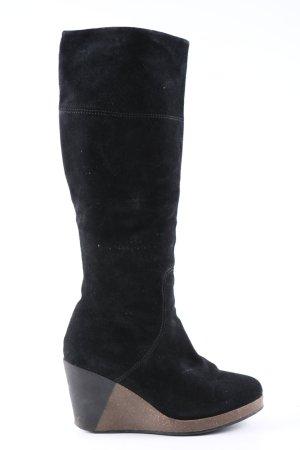 Scholl Absatz Stiefel schwarz Casual-Look