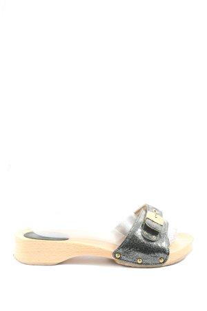 Scholl Clog Sandalen schwarz Casual-Look