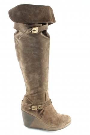 Scholl Overknees bronze-colored casual look