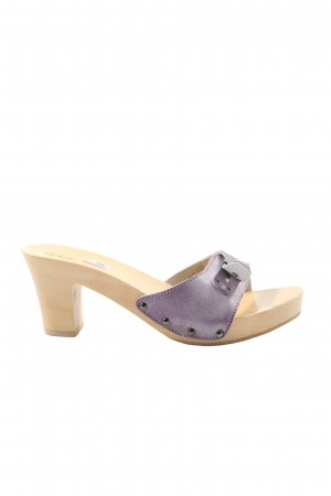 Scholl Platform High-Heeled Sandal lilac casual look