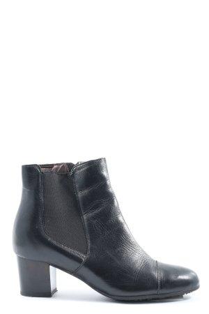Scholl Reißverschluss-Stiefeletten schwarz Casual-Look