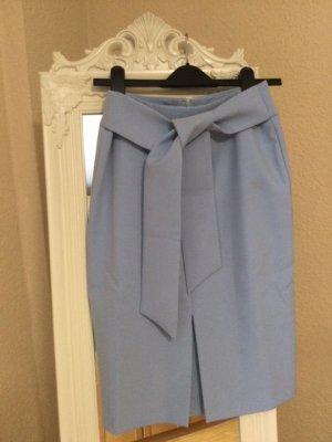 Alba Moda Jupe crayon bleu azur polyester