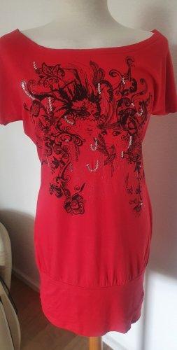 Taily Weijl Tunic Dress dark red