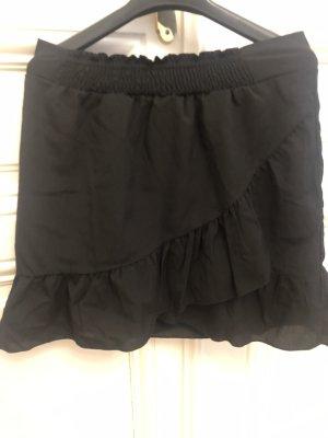 Jupe en soie noir