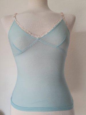 Anne L. Negligé babyblauw-azuur
