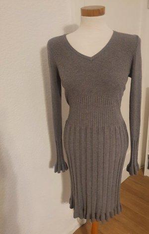 PASSIONE Vestido de lana gris
