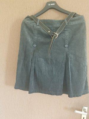 aus Italien Jupe à plis gris