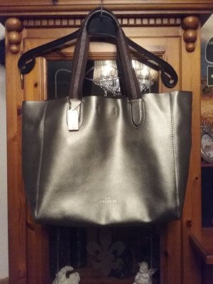 Coach Borsa shopper argento