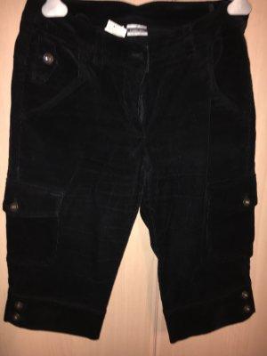 Basic Line High-Waist-Shorts black