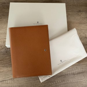 Faber Writing Case cognac-coloured leather