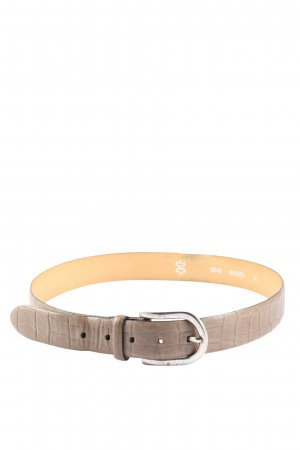 Schuchard & Friese Leather Belt brown animal pattern casual look