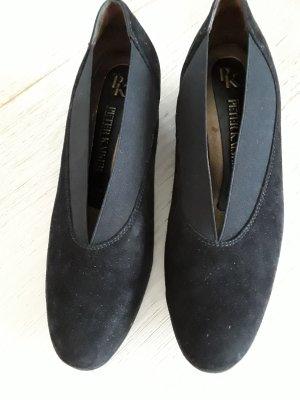 Schue aus Verlourleder