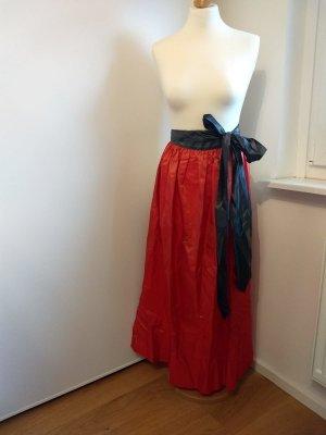 Forstenlechner Traditional Apron orange silk