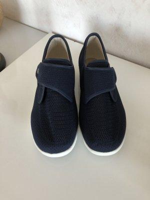 Slip-on Shoes white-dark blue