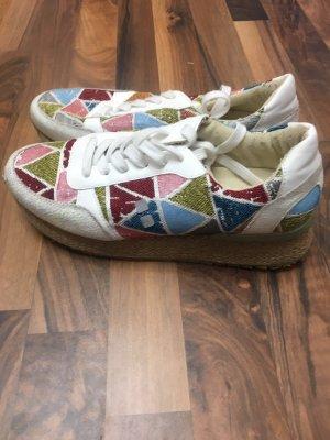 Chaussures bateau blanc
