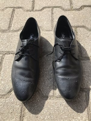 Gabor Wingtip Shoes black