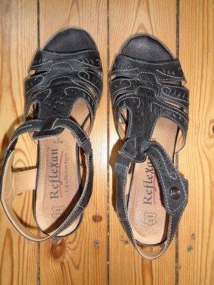 Reflexan Sandalo comodo nero