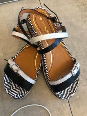 Wrangler Sandalo comodo nero-bianco