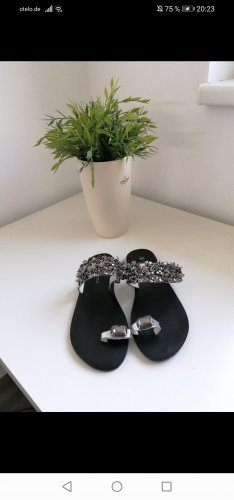 Outdoor Sandals black-silver-colored