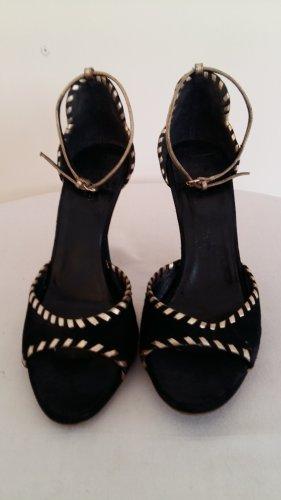 Dior Sandały z rzemykami czarny