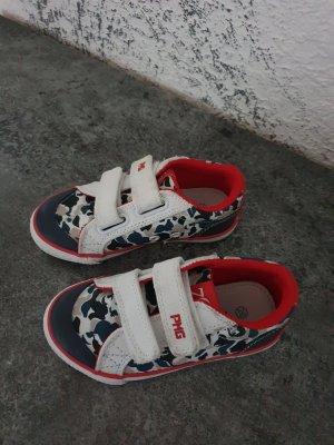 Primigi Zapatillas con hook-and-loop fastener blanco puro-rojo