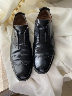 Jil Sander Wingtip Shoes black