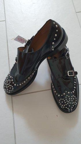 Navyboot Wingtip Shoes black