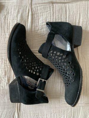 Schuhe 36 Vince Camuto schwarz Leder