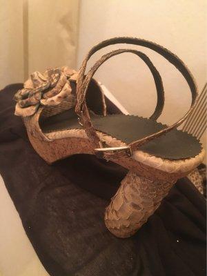 Outdoor sandalen grijs-bruin