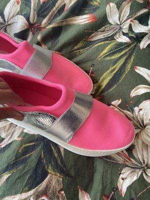 Schuhe 38 Sneaker Schlüpfschuhe pink hot sole