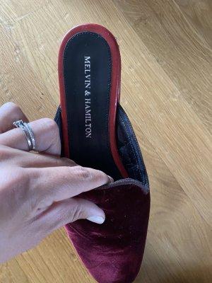 Melvin & hamilton Slip-on Shoes multicolored velvet