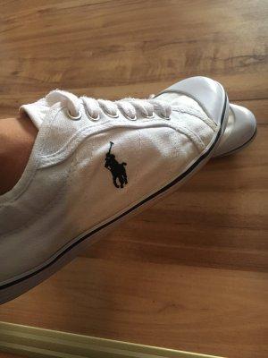 Polo Ralph Lauren Lace Shoes white