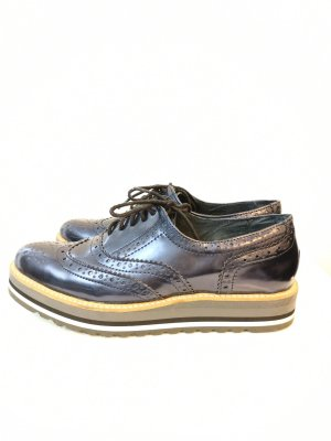 Spm Oxfords donkerblauw