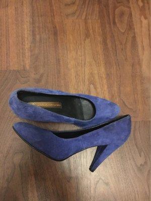 3 Suisses Wingtip Shoes blue