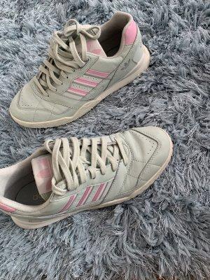 Adidas Sznurowane trampki jasnoszary-miętowy