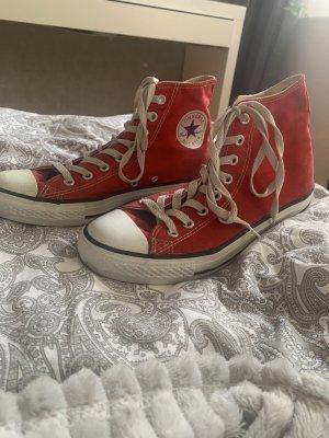 Converse Wedge Sneaker red