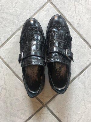 Marc Cain Slip-on Shoes black-white