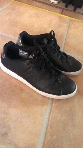 Nike Sneakers met veters wit-zwart