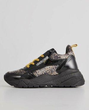 Roberto Cavalli Lace-Up Sneaker black