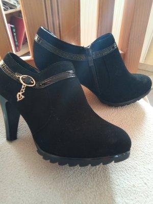 100% Fashion Talons hauts noir