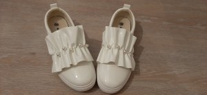 Chaussures Mary Jane blanc